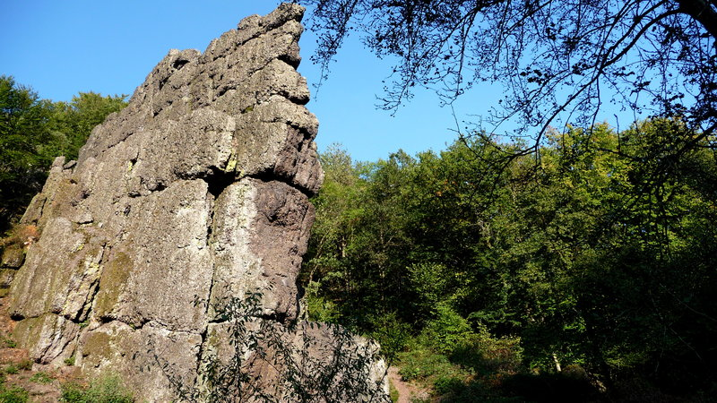 roche à frêne